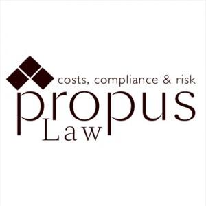 Propus Law Logo Design