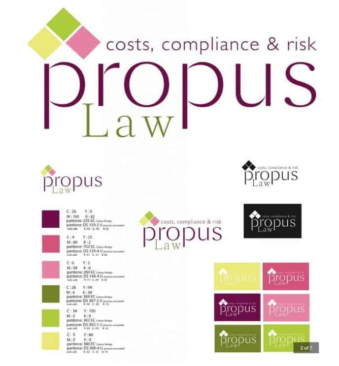 Propus Law Branding
